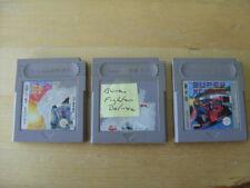 Nintendo Game Boy Juegos-Burai FIGHTER Deluxe, F1 de carrera, SUPER R.C PRO-carros