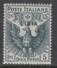 ITALY LIBIA Red Cross Sassone n.14 cv 175$ MNH**  SUPER CENTERED