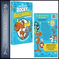 THE ADVENTURES OF ROCKY AND BULLWINKLE AND FRIENDS (1959)TV Series 1 - 5 RG1 DVD