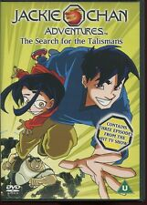 Jackie Chan Adventures - Search For The Talisman (DVD, 2002)