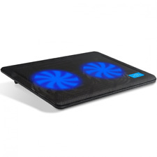 Laptop Cooler, Aicheson Ultra Slim Laptop Cooling Pad Chill Mat with 2 Quiet Fan