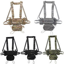 Tactical Hunting Lightweight MK3 Modular nylon Chest Rig Combat Training Vest