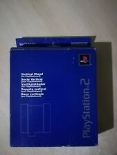 BASE VERTICALE PS2 Originale SONY Playstation 2 BOXATA Vertical Stand AQUA BLUE