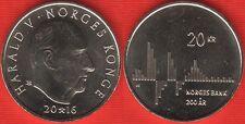 "Norway 20 kroner 2016 ""Norges Bank Bicentenary"" UNC"