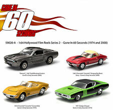 HOLLYWOOD FILM REELS 4 PACK GONE IN 60 SECONDS 1/64 GREENLIGHT 59020A