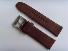 DIESEL Original Ersatzband Lederarmband DZ4204 Uhrband braun watch strap brown