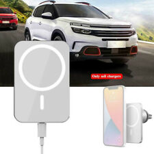 Magnetic Car Mount Wireless Charger with MagSafe for iPhone 12 mini 12 Pro Max