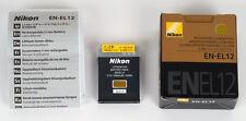 Nikon batterie originale EN-EL12 pour Coolpix AW130, S9900, S9200, S6300, P340