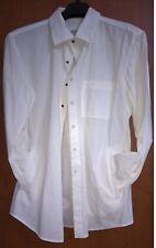 camicia uomo ARMANI COLLEZIONI col Bianco con tasche laterali misure nellefoto -