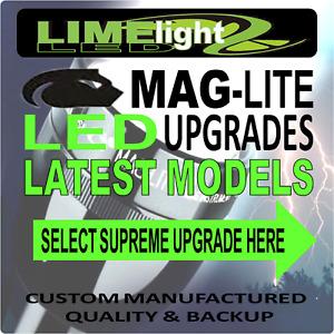 MAGLITE UPGRADE LED CONVERSION CREE 400-550lm BULB GLOBE FLASHLIGHT TORCH  AU