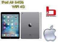 "Apple iPad Air 64GB WIFI LTE 4G 9.7"" RETINA Tablet A1475 - MD793 - GRIGIO - ITA"