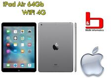 "Apple iPad Air 64GB WIFI LTE 4G 9.7"" RETINA Tablet A1475 - MD793 - GRIGIO - ITA"