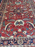 "5'8"" x 9' New Pakistani Peshawar Oriental Rug - Hand Made - 100% Wool - Veg Dye"