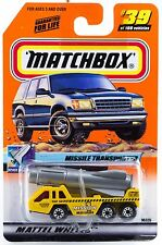 Matchbox #39 Missile Transporter Truck With MB 2000 Logo New On Card