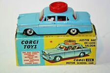 Corgi 236 Austin A 60 Saloon, Motor School Car, Good Condition in Original Box