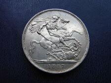 Victorian Silver Crown 1887