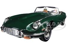 1971 JAGUAR E TYPE GREEN 1/18 DIECAST MODEL CAR BY ROAD SIGNATURE 92608