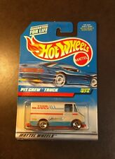 Hot Wheels Pit Crew Truck Delivery Combat Medic Ambulance Racing Team Van