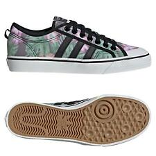 adidas ORIGINALS MEN'S NIZZA LO SHOES MULTI TRAINERS SNEAKERS TROPICAL CANVAS