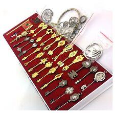 Fairy Tail Lucy Celestial Zodiac Spirit Gate Keys 34 Pcs 28 Keys Key Chain Ring