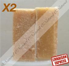 X2 Carré de Musc Ambré Solide Déo Parfum Anti-Mites Amber Musk Almizcle de Ambar
