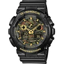 CASIO G-SHOCK GA-100CF-1A9ER Camouflage Tactical Military Stopwatch RRP £110