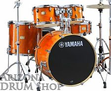 "Yamaha Stage Custom Birch Drum Set/Shell Pack HONEY AMBER w/ 20"" Bass SBP0F50HA"