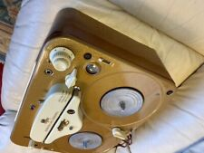 Vintage Tandberg Model 5 Reel to Reel Tape Recorder/ Player W/ Carry Case