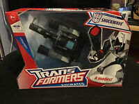 Transformers Animated Shockwave/Longarm Prime + Instructions & Box (Very Rare)