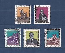 Yemen 1965 Royalist Issue President Kennedy Set VFU SGR63-7