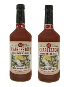 Charleston Bloody Mary Bold & Spicy Cocktail Mix 2 Bottle Pack