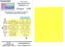 Model Maker 1/48 MESSERSCHMITT Me-262A-1a Kabuki Tape Paint Mask Set Dragon