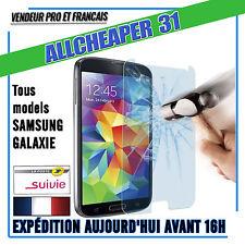 Vitre Verre Trempé Samsung S5 Galaxy anti Casse Authentiqu Films protectio