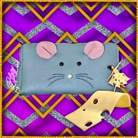 NWT KATE SPADE CAT'S MEOW MOUSE LACEY WALLET PWRU44321