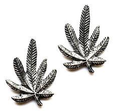 Marijuana Leaf Cufflinks