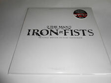 The Man With The Iron Fists Soundtrack RED VINYL Ltd Edition 2 LPs NEW