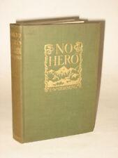 E. W. Hornung - NO HERO - 1903 HC 1stEd Scribner's Sons