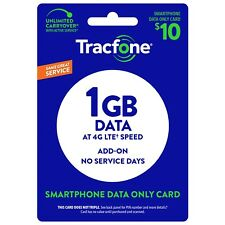 TracFone Refill $10 Refill 1GB Data Add On for SmartPhone -- Loaded Directly