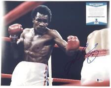 SUGAR RAY LEONARD Signed 11x14 Photo Boxing Legend Auto (B) ~ Beckett BAS COA
