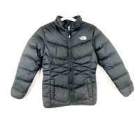 The North Face Girls M 10/12 Aconcagua 550 Down Puffer Insulated Jacket Black