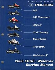 2008 POLARIS SNOWMOBILE EDGE / WIDETRAK SERVICE MANUAL P/N 9921481 (672)