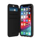 GRIFFIN SURVIVOR CLEAR WALLET CASE F/APPLE IPHONE XR - BLACK/CLEAR - GIP-016-BKC
