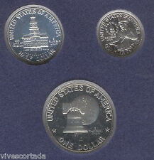 U.S.A. 1/4 1/2 1 Dollar 1976 Bicentennial @ PROOF @ silver