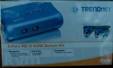 TrendNet 2-Port Usb Kvm Switchkit - Brand New In Box - All Cabling Included