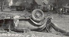 RPPC AUG/33 PUEBLO (MANITOU) CO FLOOD DEATH CAR PHOTO OLD POSTCARD *SALE* PC7491