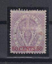 C2718/ CANADA - BRITISH COLUMBIA – SG # 32 MINT MH CERTIFICATE – CV 795 $