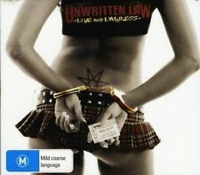 UNWRITTEN LAW - LIVE AND LAWLESS NEW CD