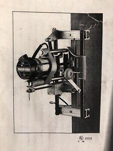 Porter Cable 513 Heavy-Duty Lock Mortiser 1-3/4 Peak HP motor New