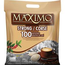MAXIMO Strong einzelnt aromaversiegelt 100 Kaffeepads je Beutel