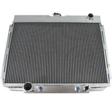 4 Row Core Aluminum Radiator For Ford Fairlane/Mustang/Torino/Ranchero 1967-1970